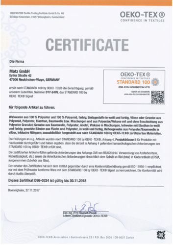 Zertifikat_Oeko-Tex
